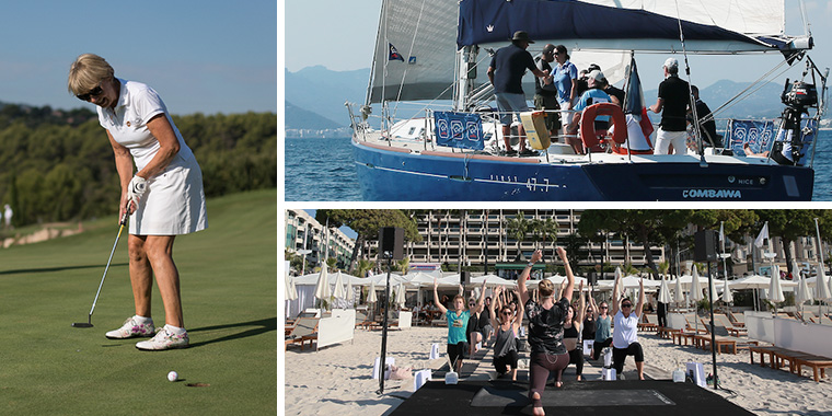 Leisure activities in Cannes