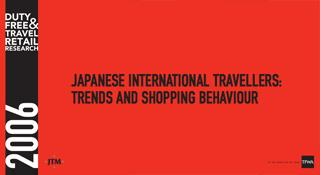 Japanese International Travellers Trends and Shopping Behaviour (2006)