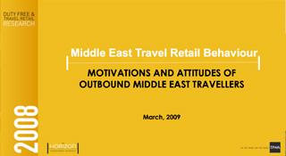 Middle East Travel Retail Behaviour (2008)