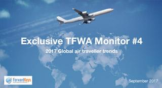 Global air traveller trends 2017