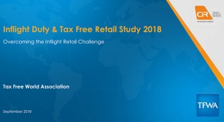 Inflight Duty & Tax Free Retail Study 2018