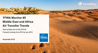 TFWA Monitor: Middle East & Africa Air Traveller Trends