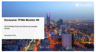 TFWA Monitor: Middle East and Africa Air Traveller Trends 2019