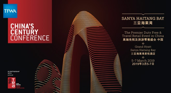 Pre-registration opens for 2019 TFWA China's Century Conference as China Duty Free Group is confirmed as Diamond Sponsor